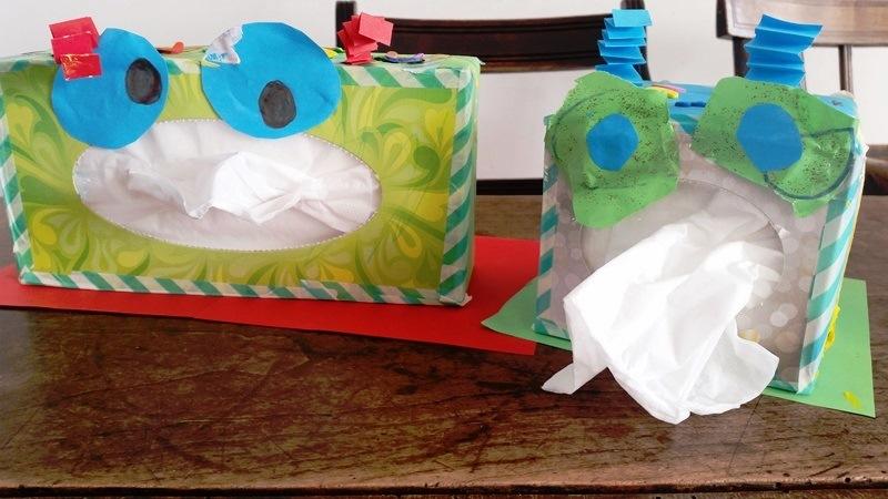 Bekend Tissue-monster knutselen! – Nanny Annelon #AO02