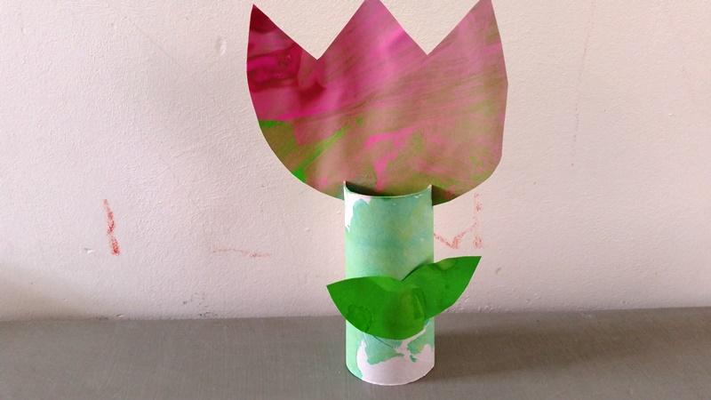 Beroemd Tulp knutselen (moederdag) – Nanny Annelon &SH84