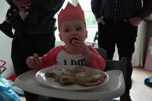 taart eerste verjaardag meisje dieren
