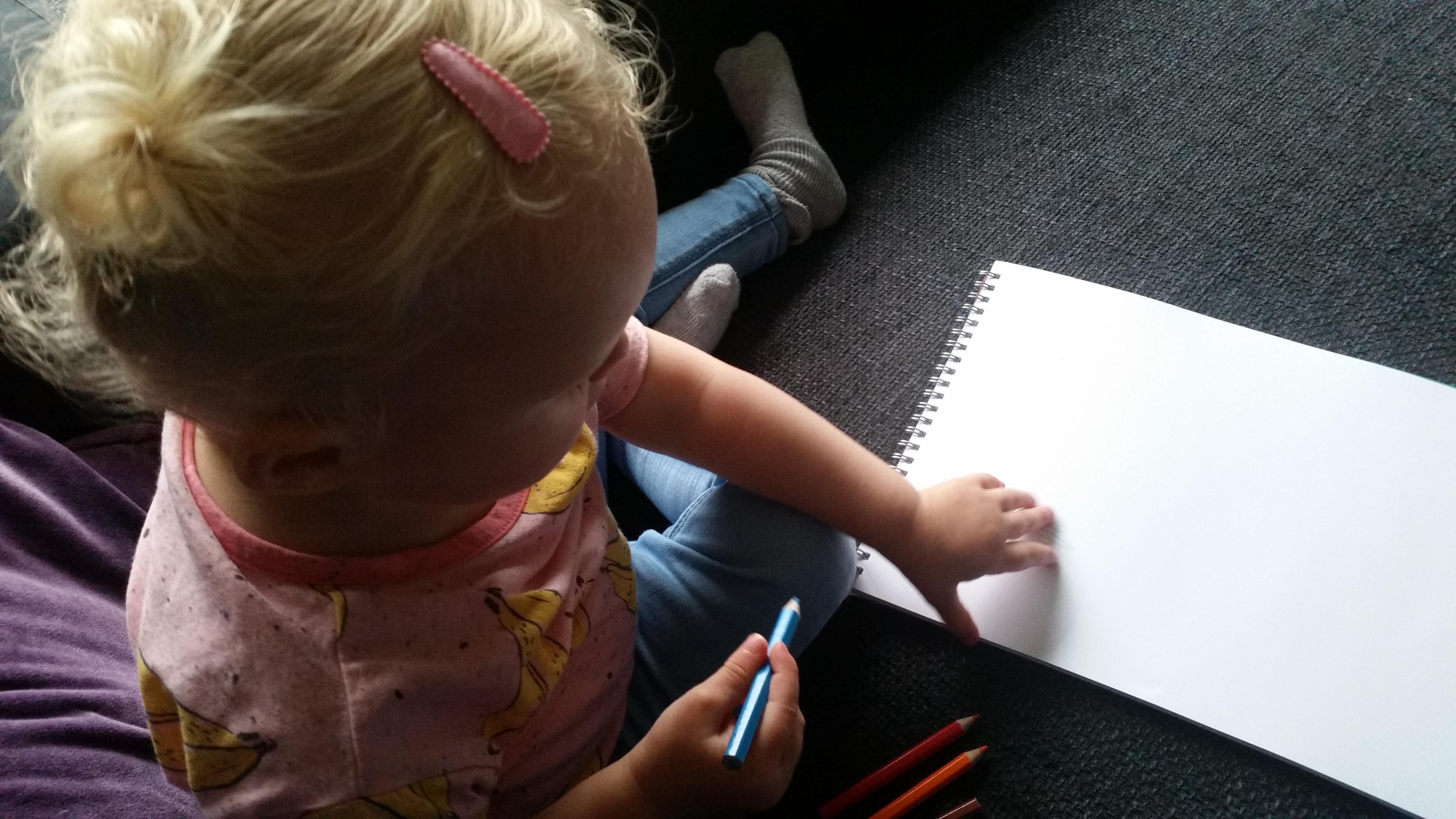 tekenen cadeau mama