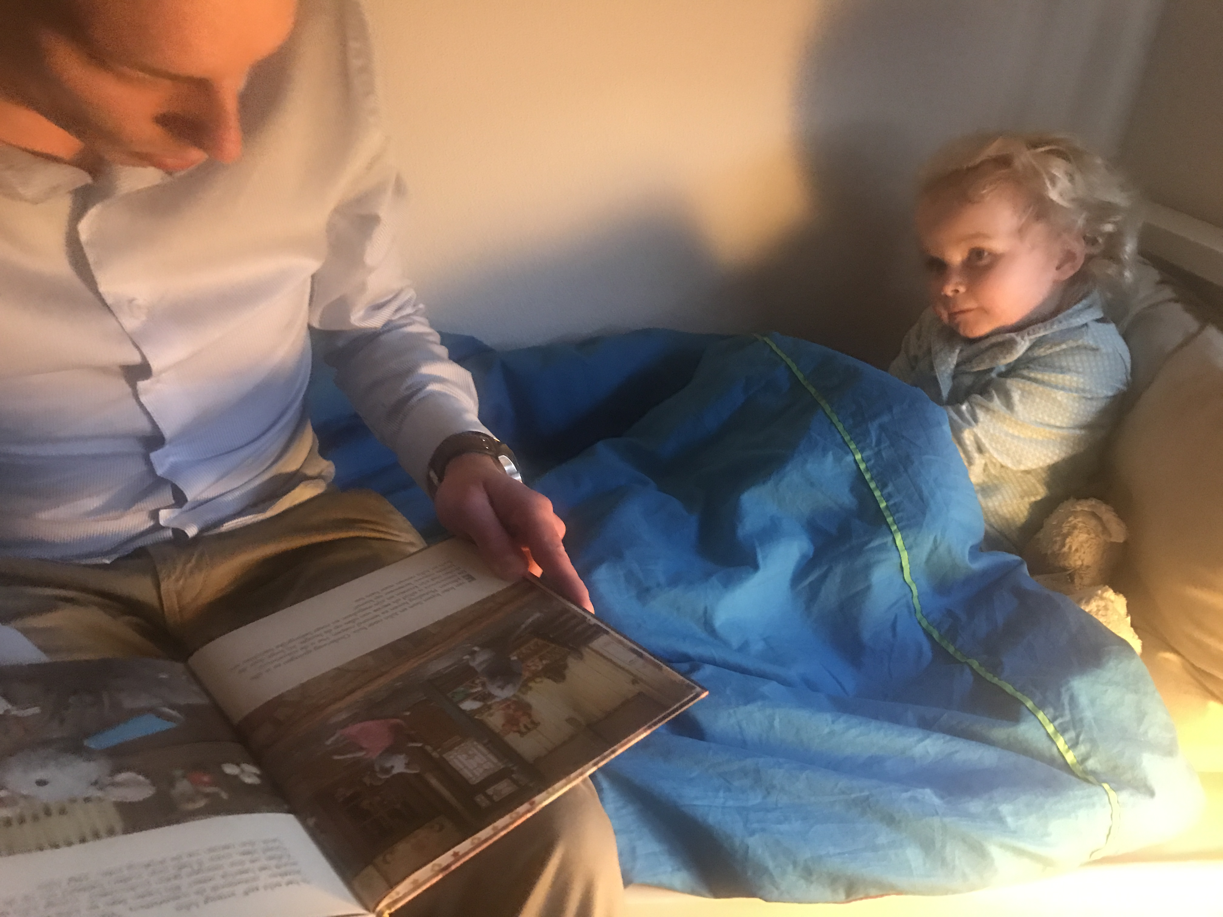 stukje lezen baby