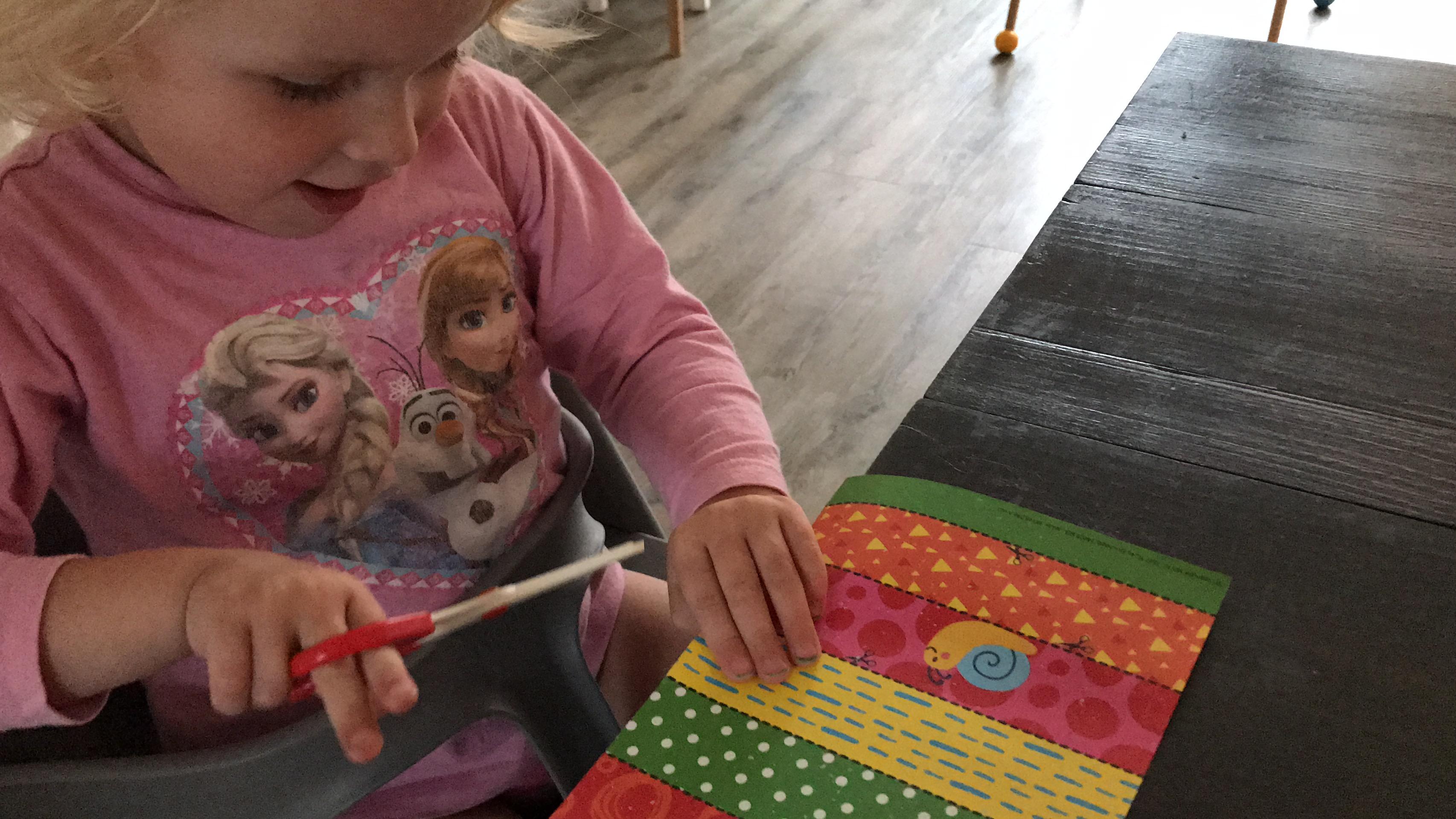 cadeau baby meisje knutselen