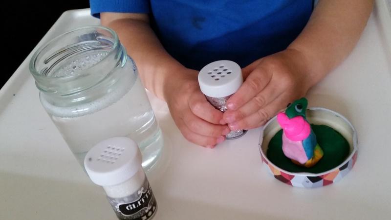 Zeer Glitter globe knutselen – Nanny Annelon #UT58