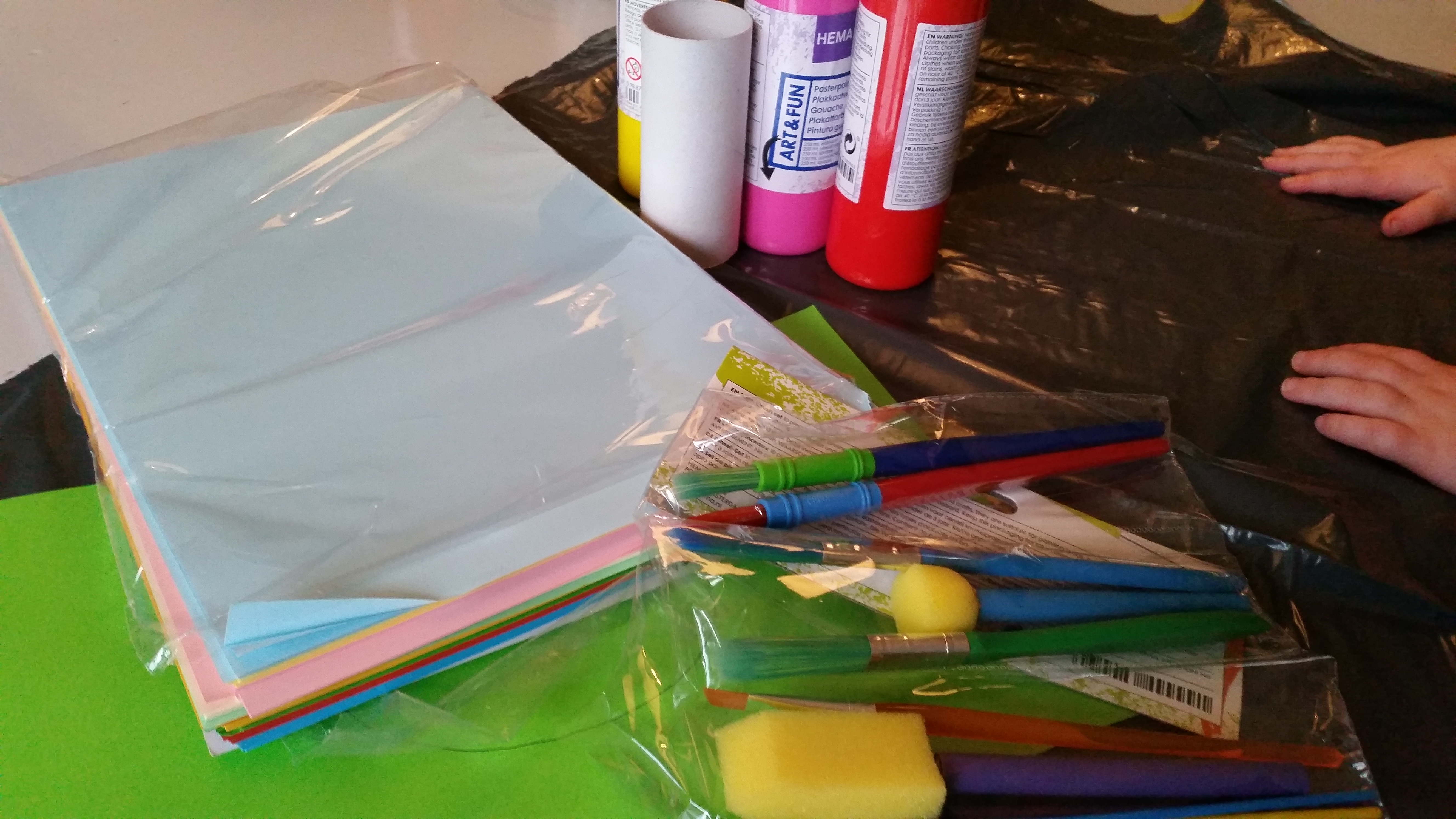 Uitgelezene Tulp knutselen (moederdag) – Nanny Annelon BF-27