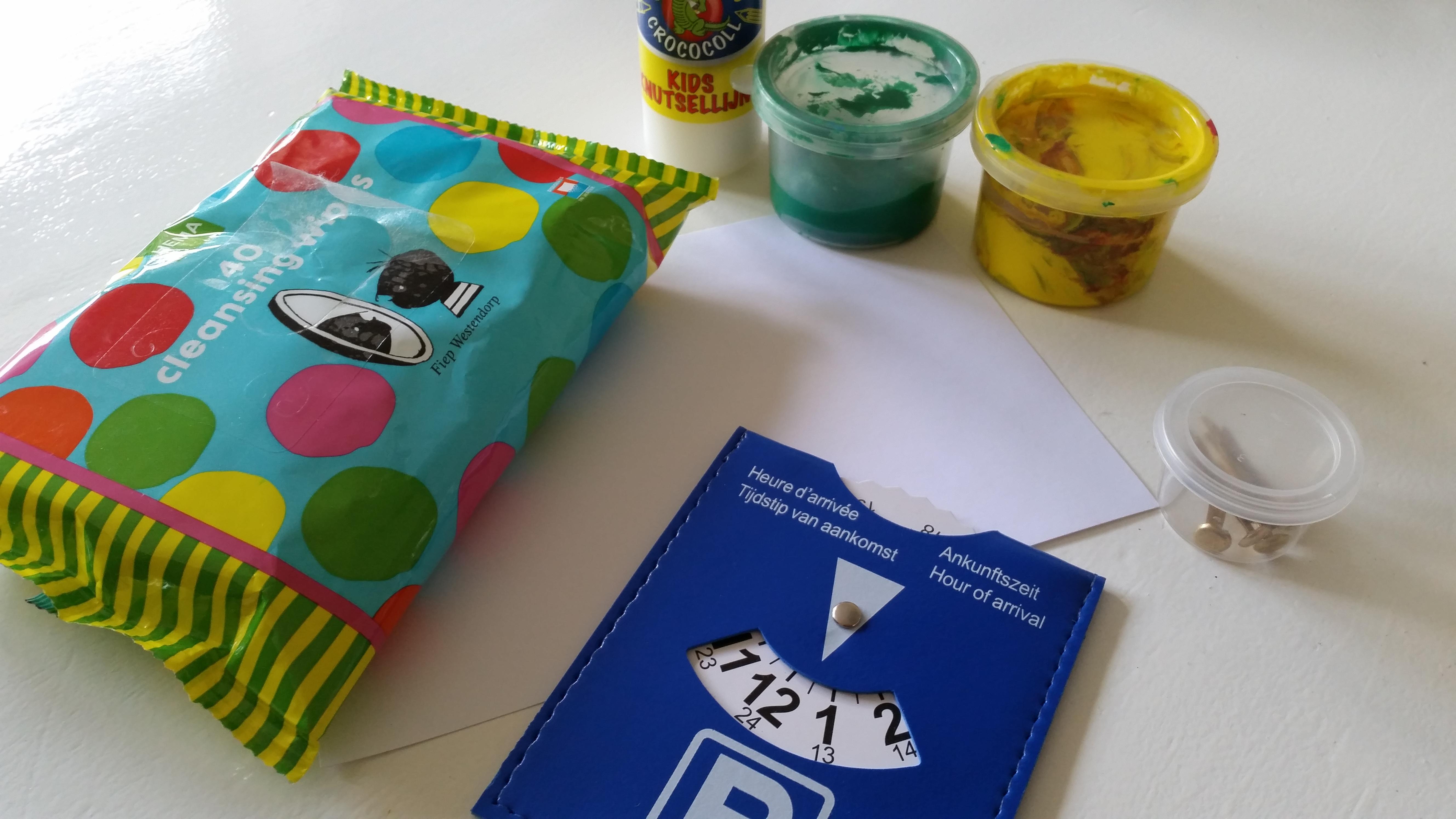 Favoriete Parkeerschijf knutselen voor vaderdag – Nanny Annelon &EU53