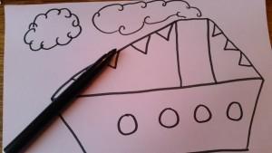 11-15-sinterklaas-knutselen-stoomboot-kleuter-peuter-makkelijk-kort-weinig-tijd-plakken-propjes-papier-marche-nanny-amsterdam-oppas-gastouder-moeder