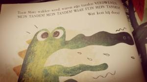 Krokodil - voorlezen - peuter - nanny annelon - review - spannend - grappig - leuk plot - marcs grote gevaarlijke tanden2