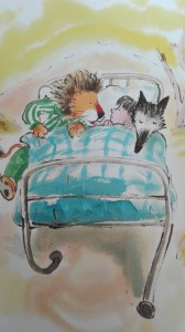 het grote voorlees boek - rond 4 jaar - vele schrijvers - illustraties - herkenning - voor het slapen gaan - nanny annelon - veel kleur