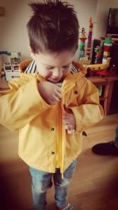 regenjas hublot peuter kleuter dreumes wind regen ideale jas streepjes klassieke kleuren review nanny annelon felle kleuren stoer