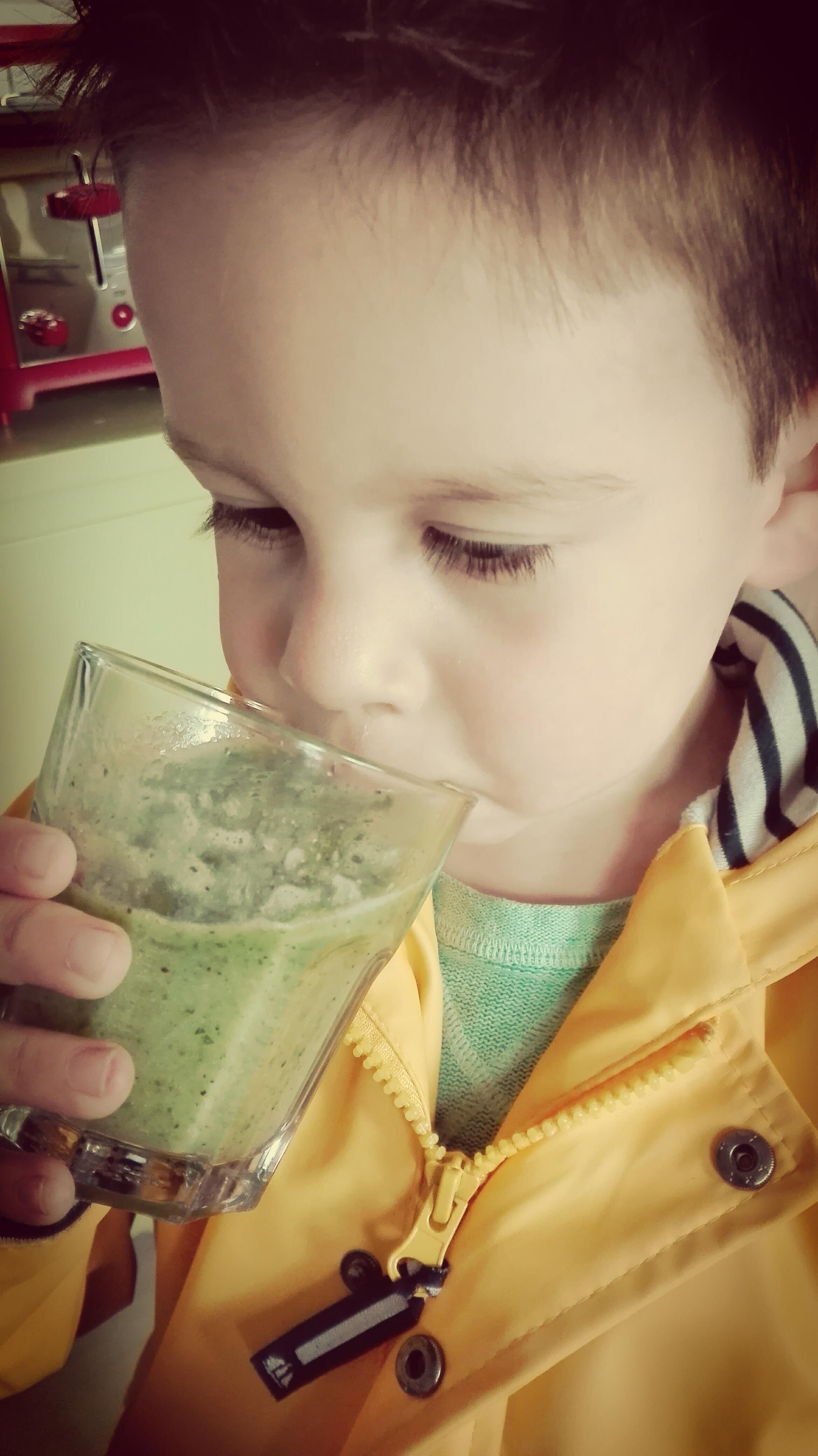 Smoothie - groene - fruit - groente - lekker - slim - dreumes - peuter - kleuter - nanny annelon - recept2